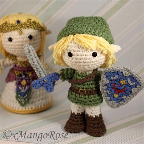 crochet pattern link zelda amigurumi link from legend of zelda by xmangorose on