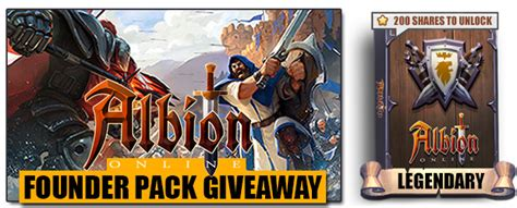 Albion Online Giveaway - albion online founder packs giveaway keengamer
