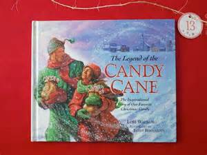 25 days book 13 the legend of the candy cane