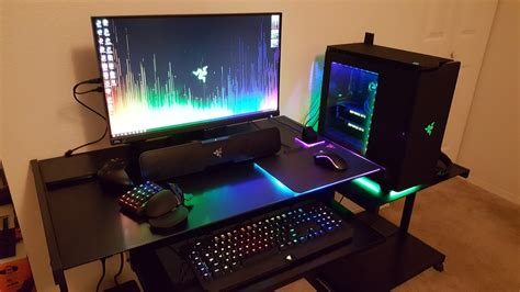 Razer Gaming Desk Image Gallery Razer Setup