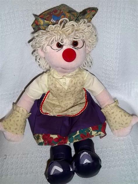 Garbanzo Big Comfy by 2002 Garbanzo Doll The Big Comfy Clown 21