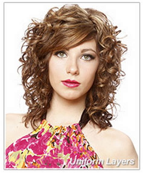 Curly Layered Hairstyles by Layered Curly Hairstyles
