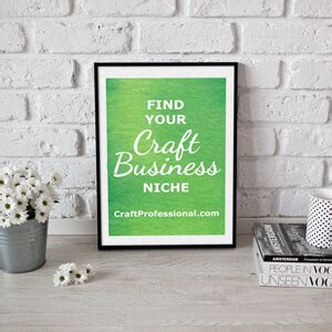 how to find niche business ideas your niche finder plan of 19 craft business ideas