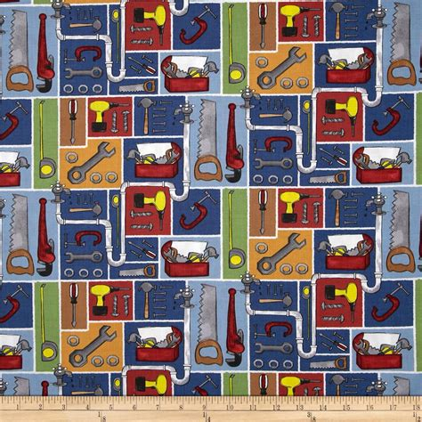 fabric pattern tools tool box patchwork multi discount designer fabric