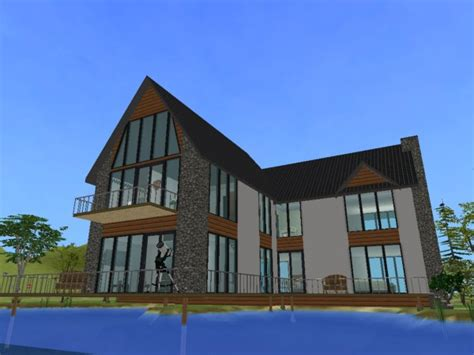 grand designs loch house mod the sims grand designs the loch house no cc