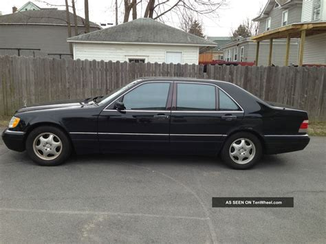 1999 Mercedes S500 by 1999 Mercedes S500