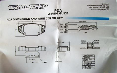 trail tech wiring diagram wiring diagram
