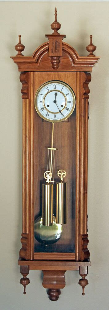 woodworking plans  making  vienna regulator wall clock