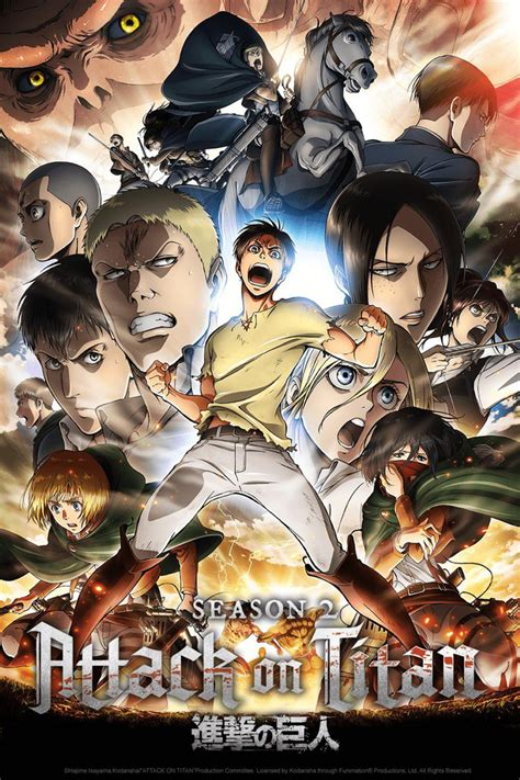 8 Anime Like Attack On Titan by Crunchyroll Attack On Titan Shop
