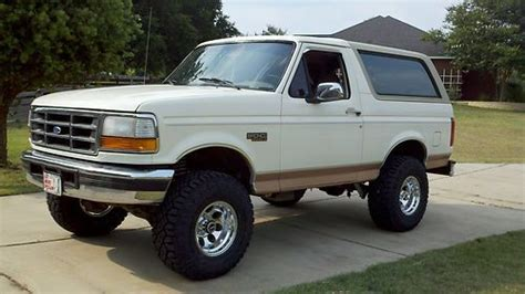 97 ford bronco ford bronco ii custom interior photo pictures