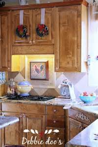 kitchen tree ideas easy decorating ideas for the kitchen debbiedoos