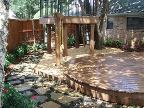 Backyard Creations Deck Box Backyard Creations Granite Walkways Pathways
