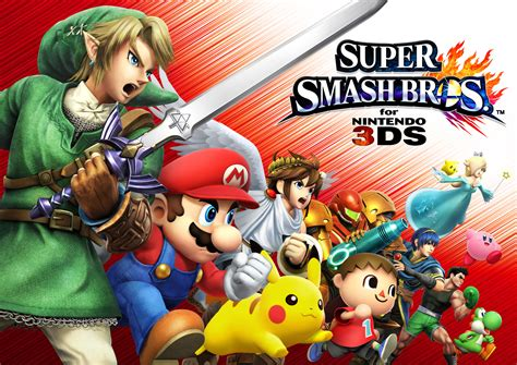 Smash Bros 3ds smash bros for 3ds available at midnight on launch dualshockers