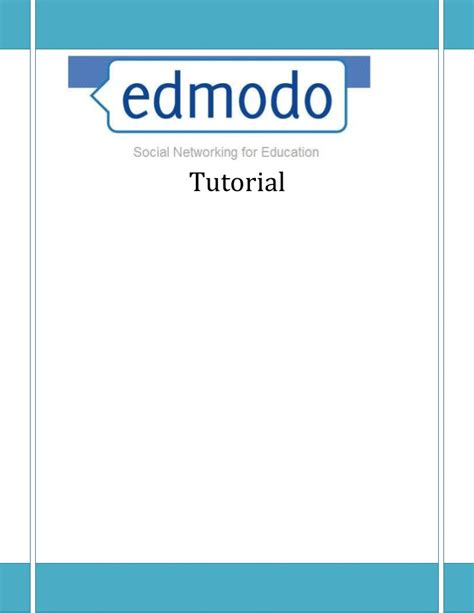 Tutorial About Edmodo | edmodo tutorial del alumno