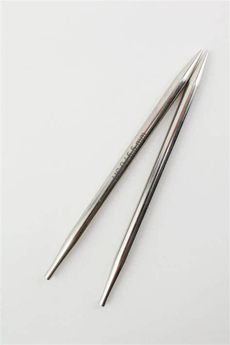 knitting interchangeable needles platina 4 5 quot interchangeable tip knitting needles