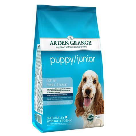 and rice puppy food arden grange puppy junior food chicken rice 2kg feedem