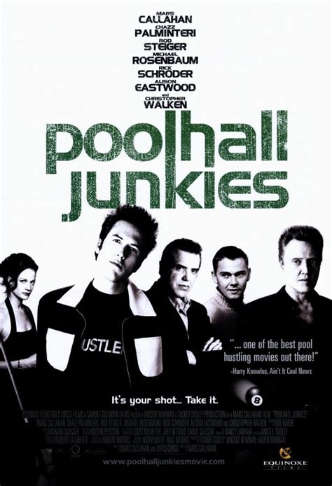 pool house junkies poolhall junkies 8 ball on the silver screen