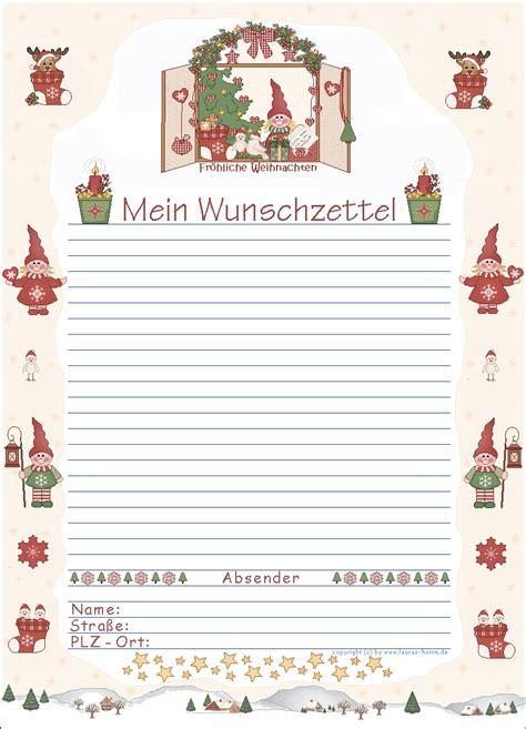 Word Vorlage Wunschzettel aldi s 220 d wunschzettel vorlagen wunschzettel