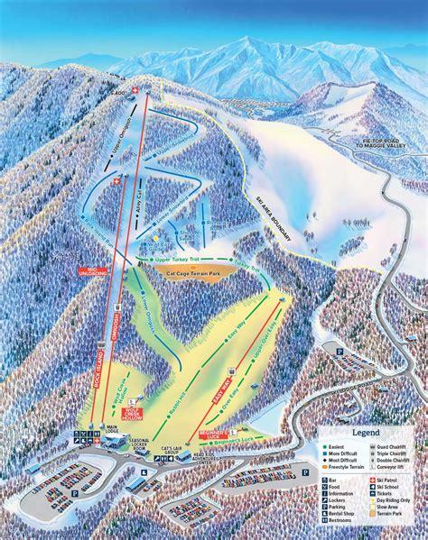 Cataloochee Ski Area Cabins by Cataloochee Ski Area Maggie Valley Nc Trail Map Maggie