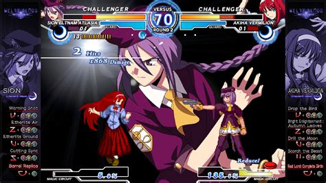 Arc System Works Universe Melty Blood Again