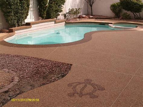 pool deck tropical pool las vegas by pebble stone
