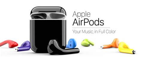 Colorware Spruces Up The Iphone by Colorware Offering Airpods In 58 Colors For 289