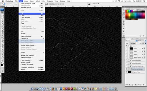 tutorial membuat teks typography membuat efek teks typography menggunakan photoshop