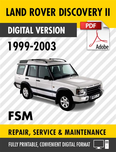service manual 2003 land rover discovery engine repair manual buy used 2003 land rover