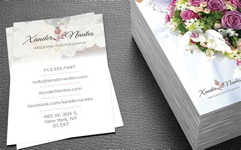 photographer business card template photoshop wedding photographer business card template photoshop