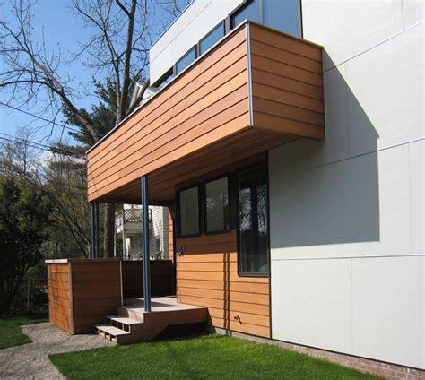 exterior combination  cement siding  wood planks