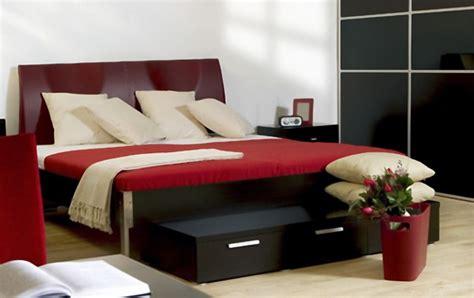 black and red bedrooms superb black interior bedroom modern red decobizz com