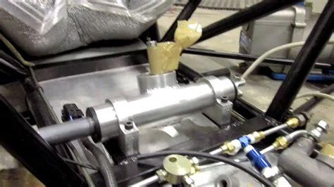 mur 2011 fsae custom steering rack and column partial