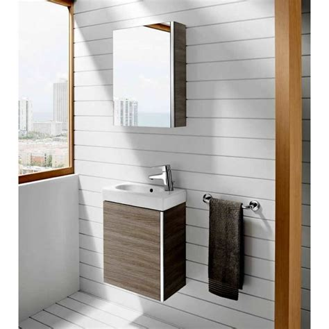 Roca Sink Unit by Roca Mini Vanity Unit With Mirrored Cabinet Uk Bathrooms