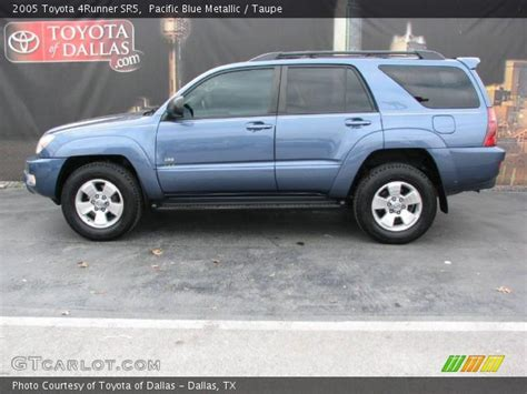 2005 Toyota 4runner Sr5 Pacific Blue Metallic 2005 Toyota 4runner Sr5 Taupe