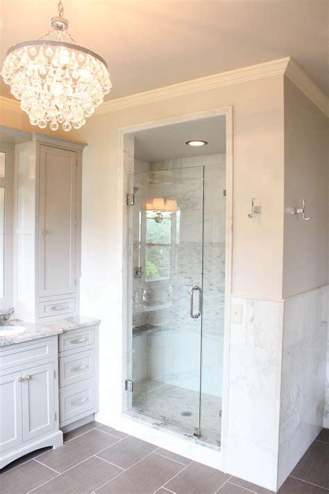 walk  bathroom fixtures  master suite  complete