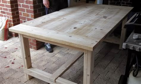 A Farm Table by Diy Farmhouse Table