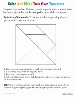 printable tangram activity sheets printable tangrams for kids education com