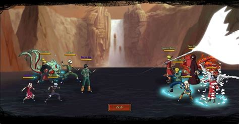 ultimate naruto online anime games