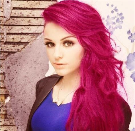 hairstyles color pink neon pink hair dye hot pink 6 crazy pink hair chalk set