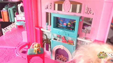 barbie dream house youtube barbie dream house by mattel review youtube