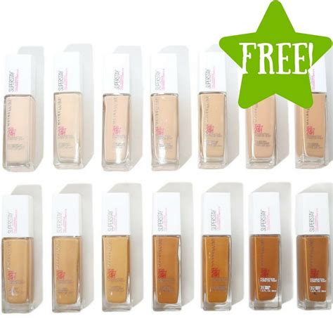 Maybelline Foundation Stay free maybelline stay coverage foundation