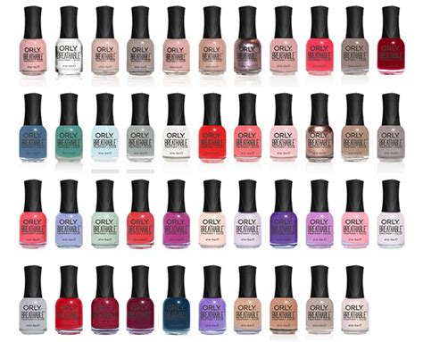 orly nail colors orly breathable treatment color orly