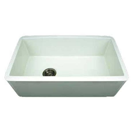 Kitchen Sink 30 Whitehaus Collection Duet Reversible Farmhaus Apron Front Fireclay 30 In Single Basin Kitchen