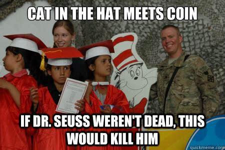 Cat In The Hat Meme - cat in the hat coin 1 memes quickmeme