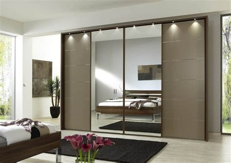 modern and spacious sliding wardrobes in - Modern Built In Wardrobes