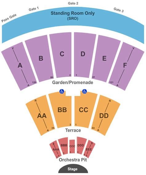 Forum Credit Union Address image gallery open air theatre seating chart