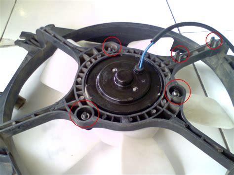 Kipas Radiator mengganti kipas radiator timor sephia