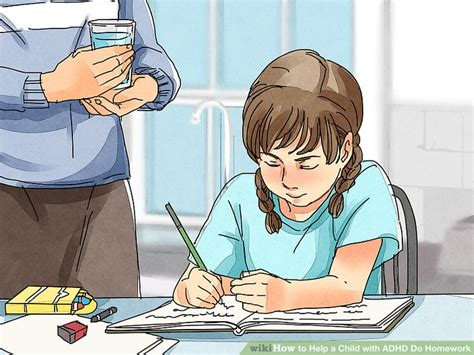 Homework Time Child School Set by 3 Ways To Help A Child With Adhd Do Homework Wikihow