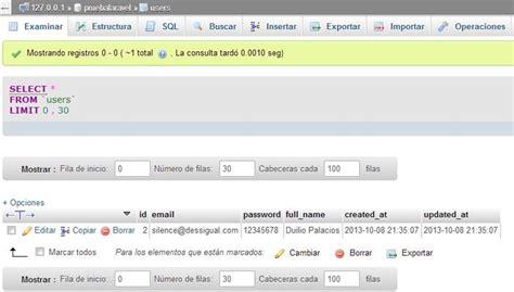 tutorial laravel usuarios m 243 dulo de usuarios iv validar formulario y guardar datos
