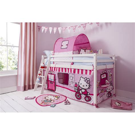 hello kitty bunk bed hello kitty bed with ladder into the glass hello kitty
